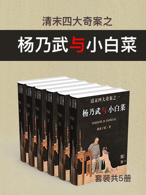 清末四大奇案之杨乃武与小白菜(套装共5册)