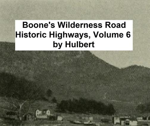 Boone's Wilderness Road
