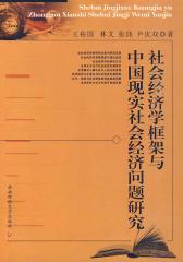 社会经济学框架与中国现实社会经济问题研究