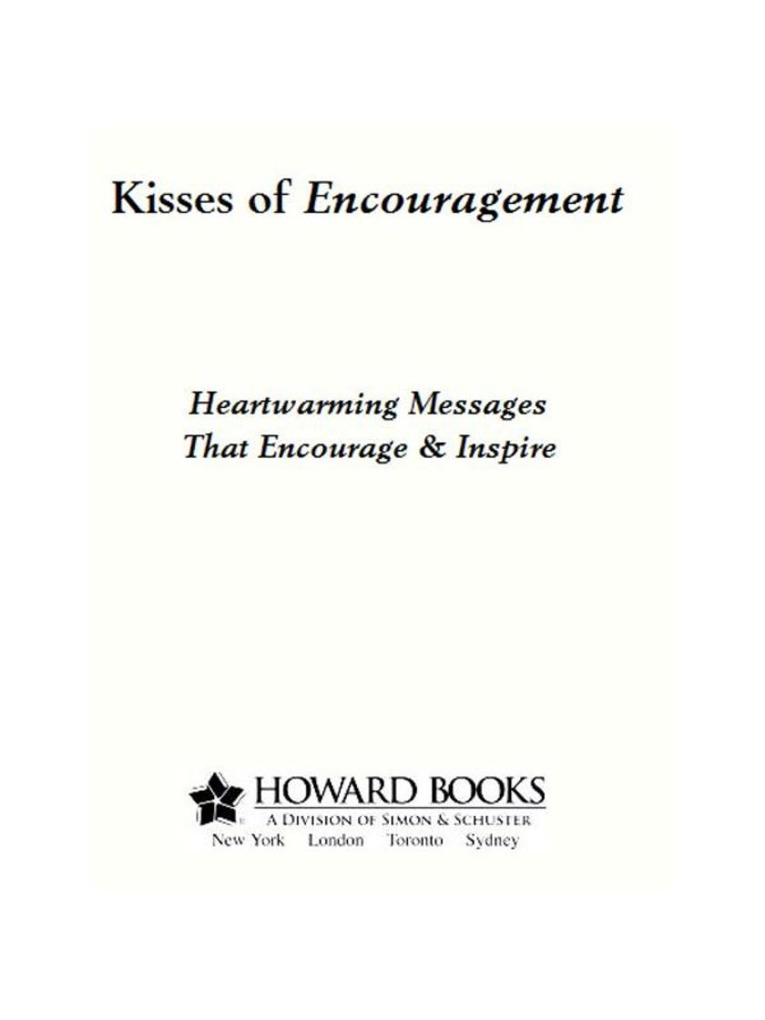 Kisses of Encouragement