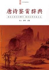 中华诗文鉴赏典丛—唐诗鉴赏辞典(平装)