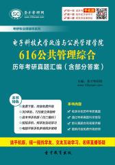 电子科技大学政治与公共管理学院616公共管理综合历年考研真题汇编(含部分答案)(仅适用PC阅读)