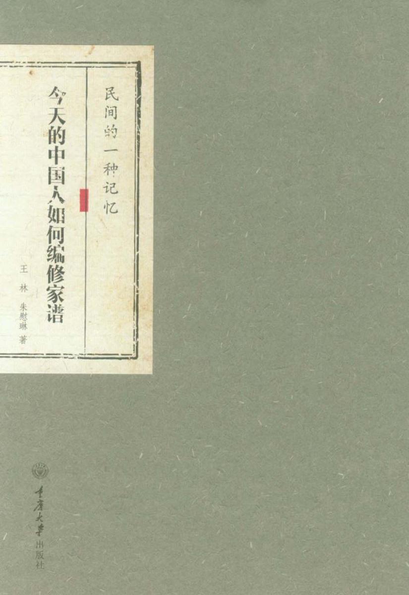 民间的一种记忆:今天的中国人如何编修家谱