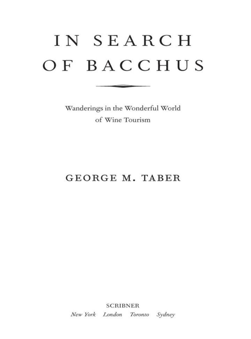 In Search of Bacchus