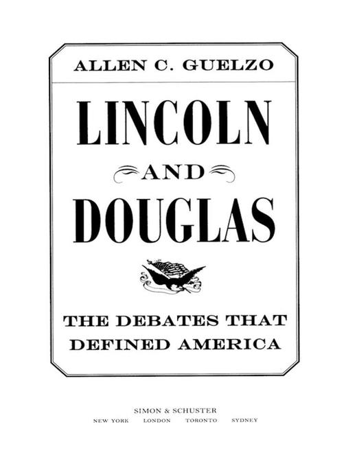 Lincoln and Douglas