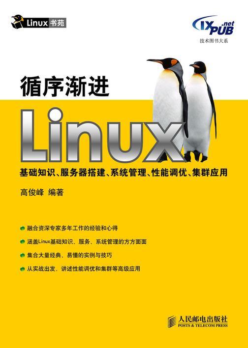 循序渐进Linux基础知识、服务器搭建、系统管理、性能调优、集群应用