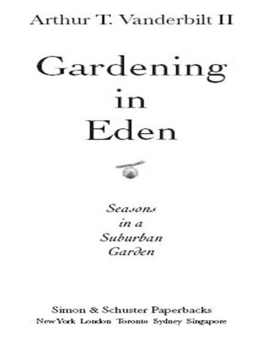 Gardening in Eden
