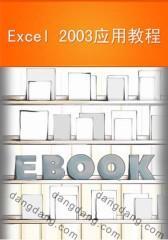 Excel 2003应用教程(仅适用PC阅读)