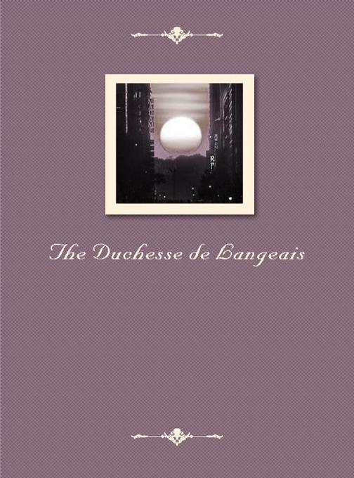 The Duchesse de Langeais