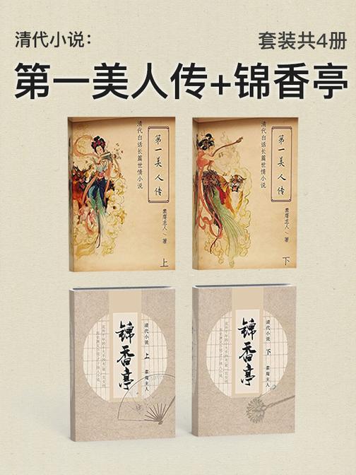 清代小说经典:素庵主人作品合集(套装共4册)