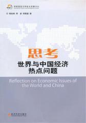 思考世界与中国经济热点问题