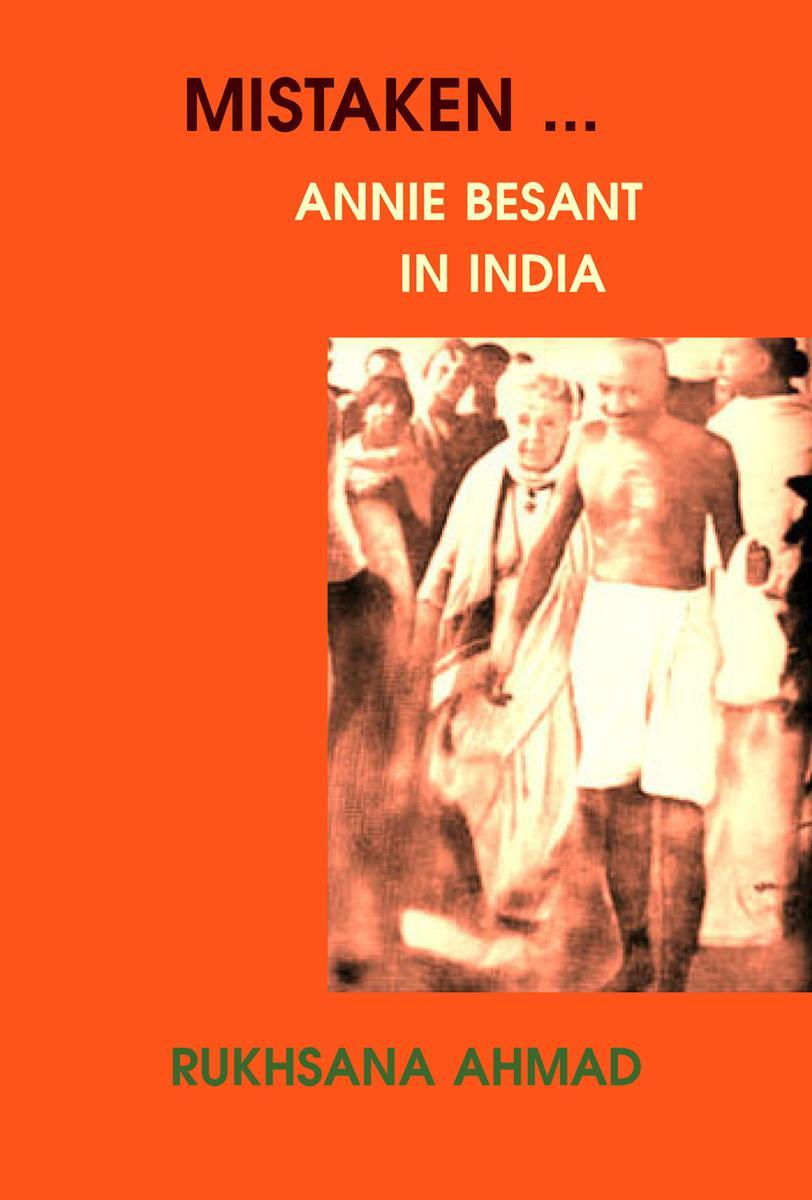 Mistaken… Annie Besant in India
