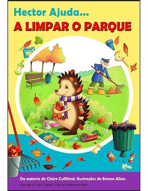 Hector Ajuda A Limpar O Parque