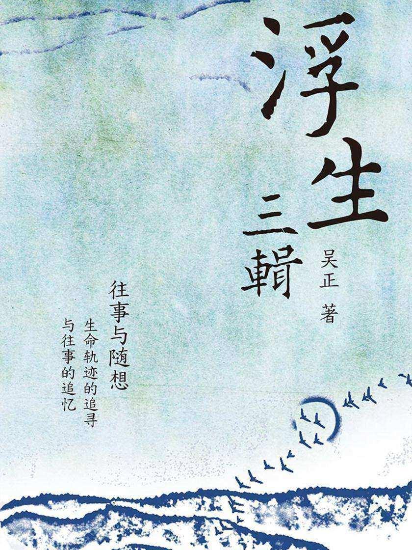 浮生三辑(旅港海派代表性作家吴正倾情力作)