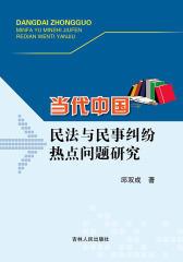 当代中国民法与民事纠纷热点问题与研究
