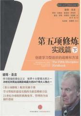 第五项修炼 实践篇:创建学习型组织的战略和方法(下)(试读本)