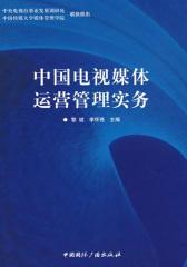 中国电视媒体运营管理实务