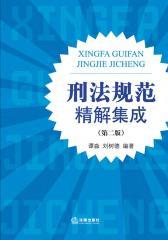 刑法规范精解集成(第二版)(仅适用PC阅读)