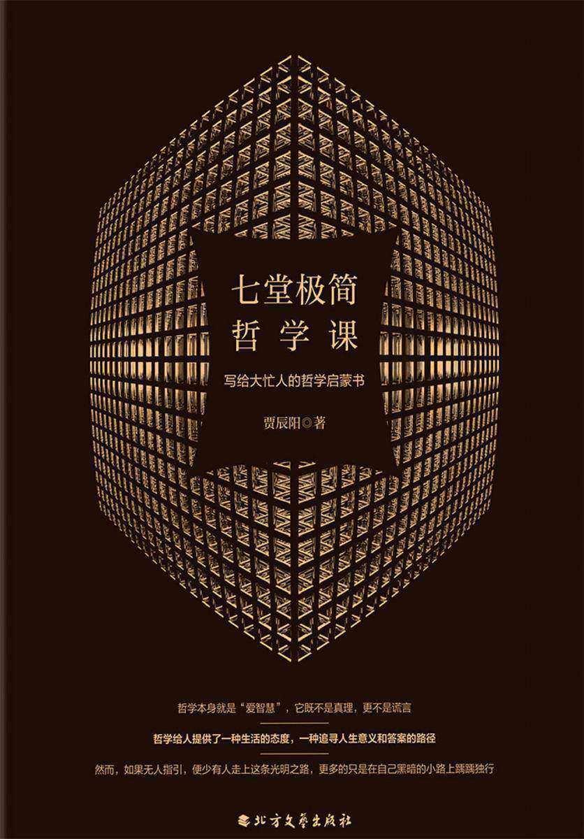 七堂极简哲学课:写给大忙人的哲学启蒙书