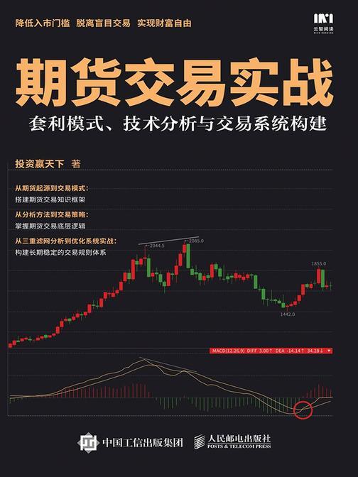 期货交易实战:套利模式、技术分析与交易系统构建