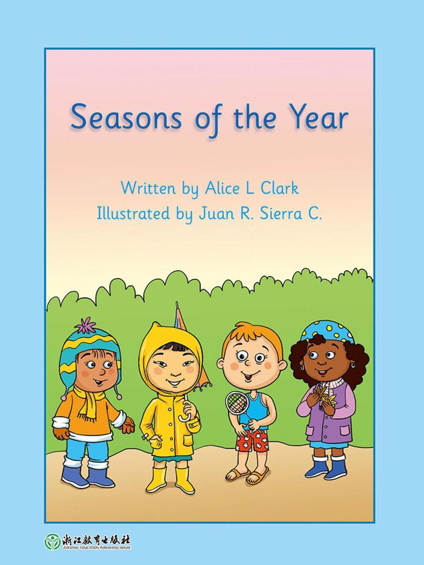 Seasons of the Year 一年四季(威尔小镇英语分级阅读2(Happy Vill Magic Readers2))