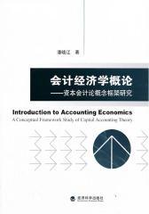 会计经济学概论:资本会计论概念框架研究