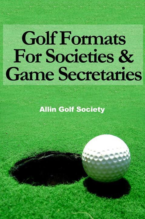 Golf Formats For Societies & Game Secretaries