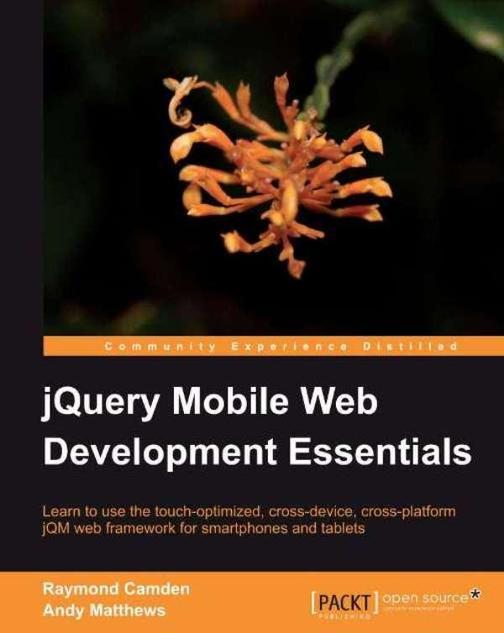 jQuery Mobile Web Development Essentials