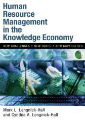 Human Resource Management in the Knowledge Economy知识经济体下的人力资源管理