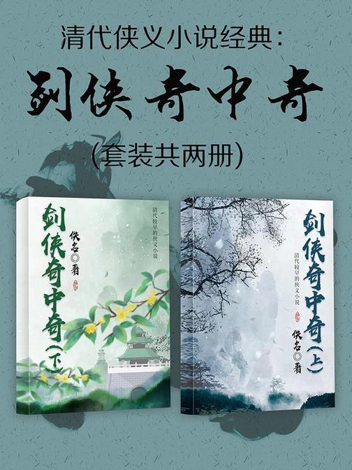 清代侠义小说经典:剑侠奇中奇(套装共两册)