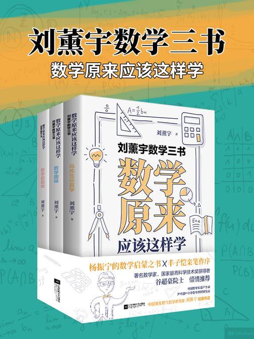 刘薰宇数学三书:数学原来应该这样学(套装共3册)