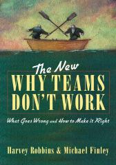 The New Why Teams Don't Work新--团队没效率的原因