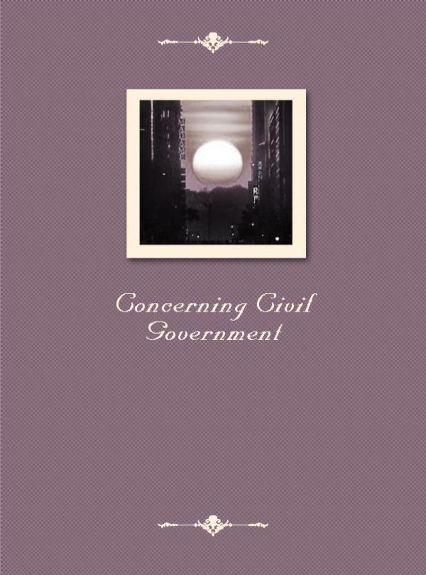 Concerning Civil Government