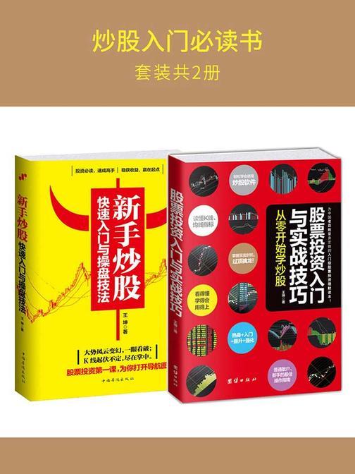 炒股入门必读书(套装2册):股票投资入门+新手炒股入门