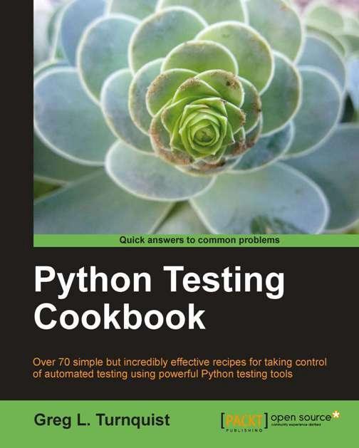 Python Testing Cookbook