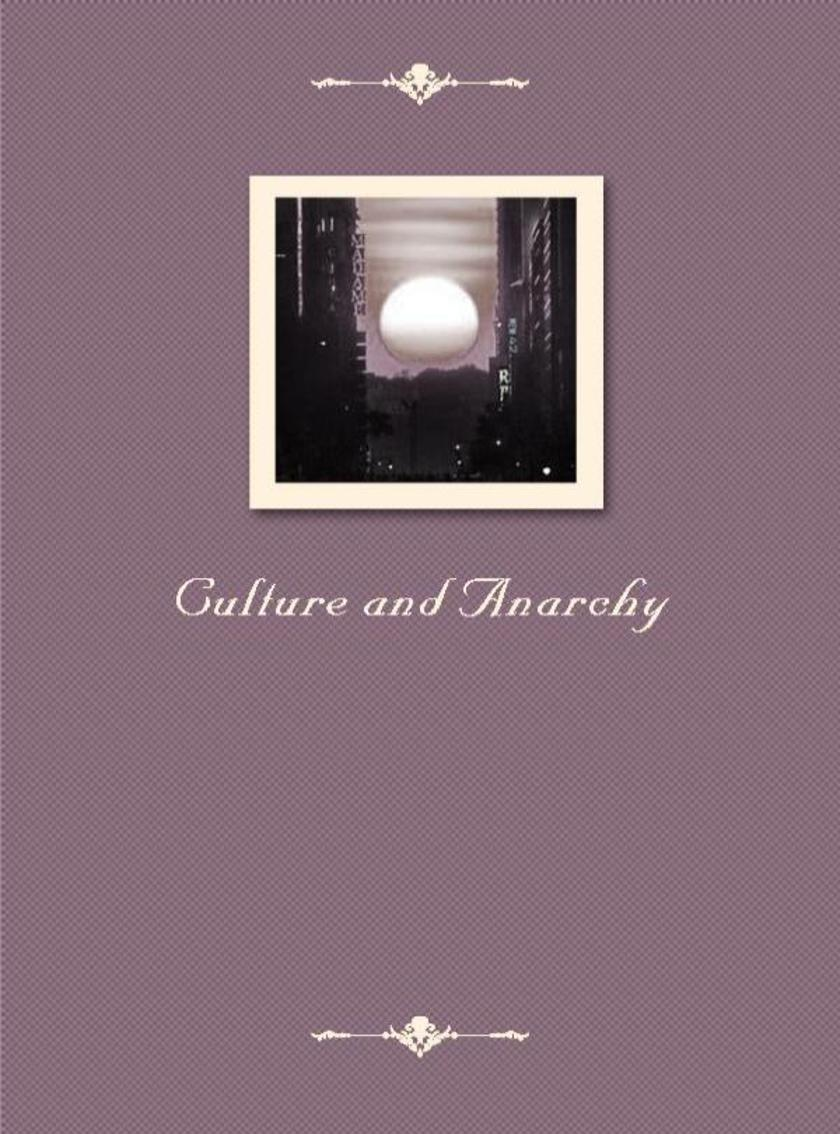 Culture and Anarchy