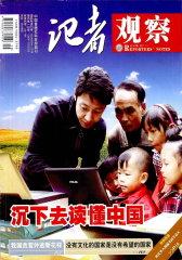记者观察 月刊 2011年20期(电子杂志)(仅适用PC阅读)