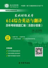 东北财经大学614综合英语与翻译历年考研真题汇编(含部分答案)