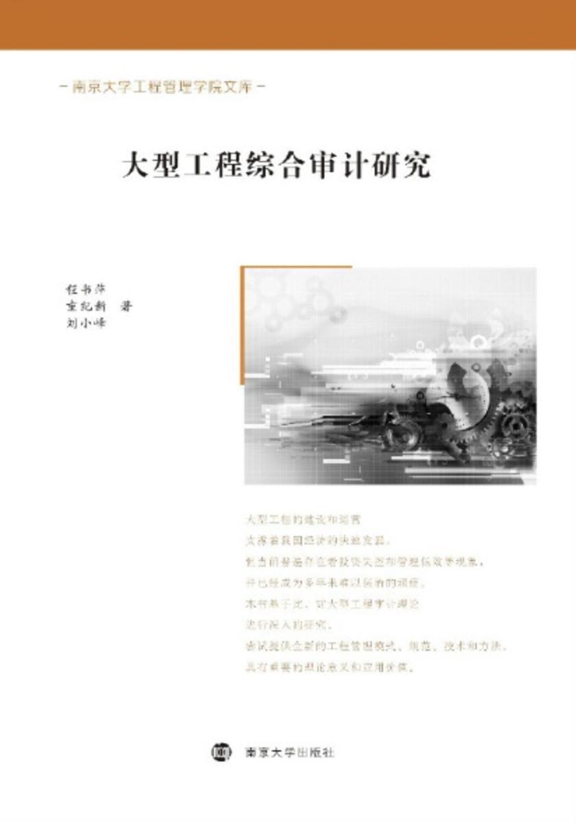 南京大学工程管理学院文库 大型工程综合审计研究