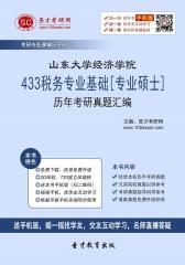 山东大学经济学院433税务专业基础[专业硕士]历年考研真题汇编