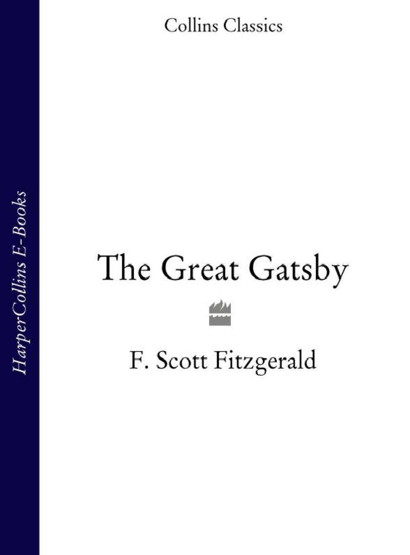 The Great Gatsby (Collins Classics)