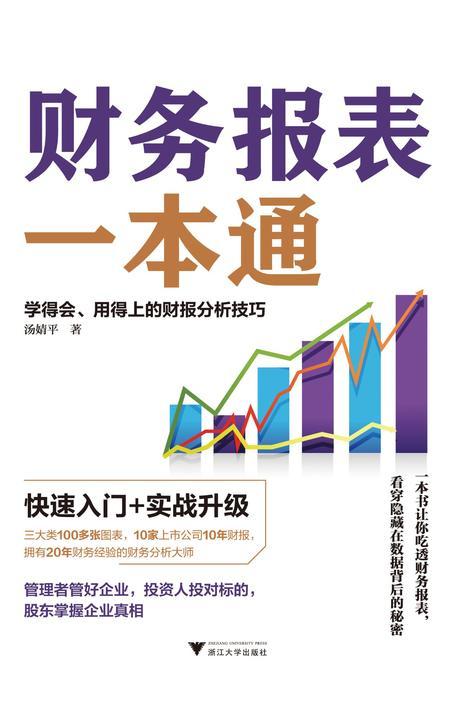 财务报表一本通:学得会、用得上的财报分析技巧
