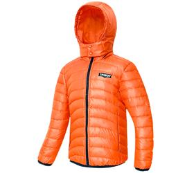 七波辉男童装  秋冬儿童加厚保暖羽绒服 冬装外套青少年加厚外套