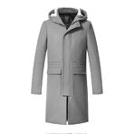 GXG毛呢大衣男装 冬季男士修身时尚休闲中长款大衣外套#64826026